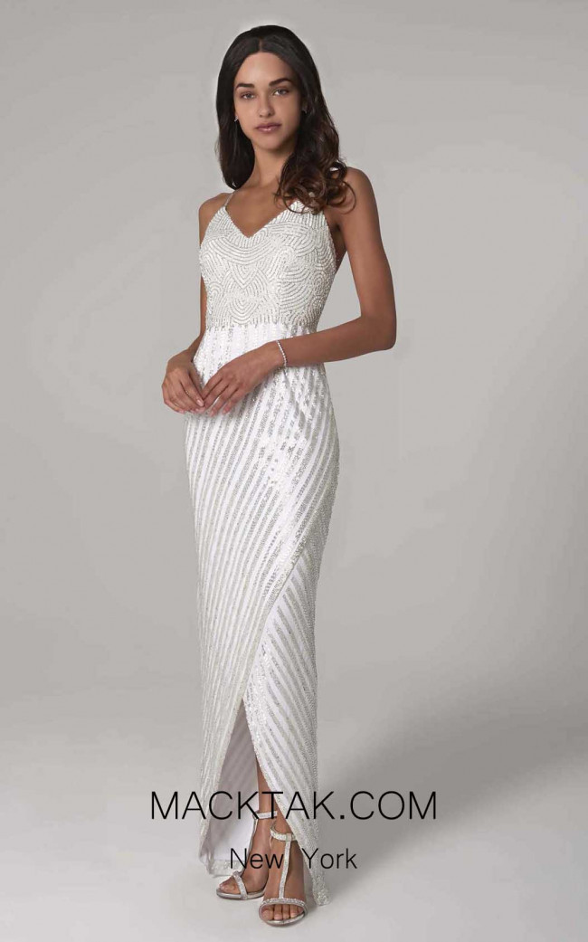 Scala 60112 Ivory Front Dress