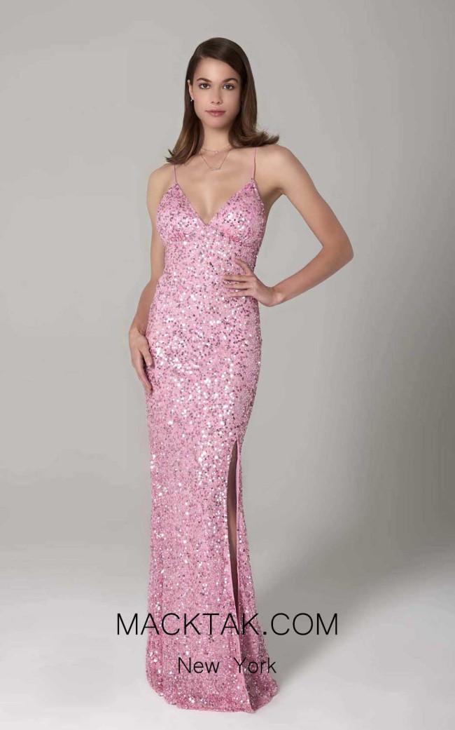 Scala 60116 Bubble Gum Front Dress