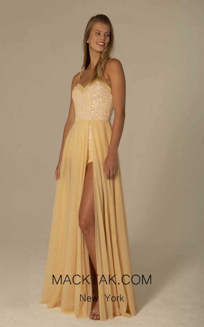 Scala 60122 Buttermilk Front Dress