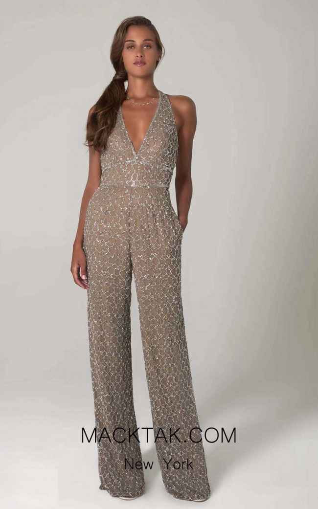 Scala 60132 Lead Silver Front Dress