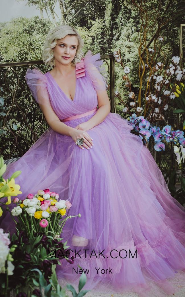 Sinestezic 7718 As Seen Evening Dress