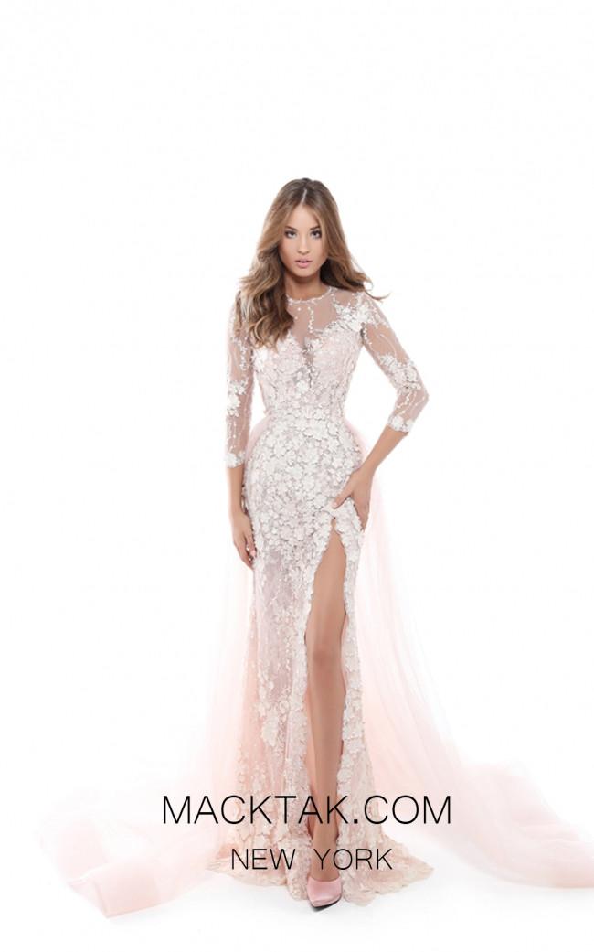 Tarik Ediz 50419 Powder Front Dress