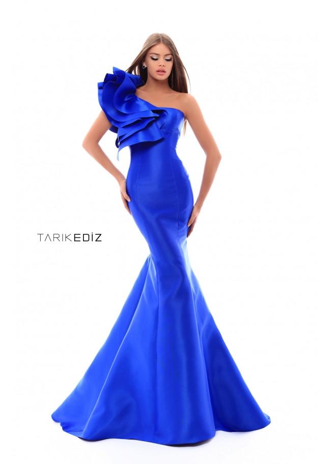 Tarik Ediz 50202 Royal Front Dress
