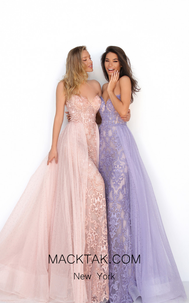 Tarik Ediz 50636 Front Dress