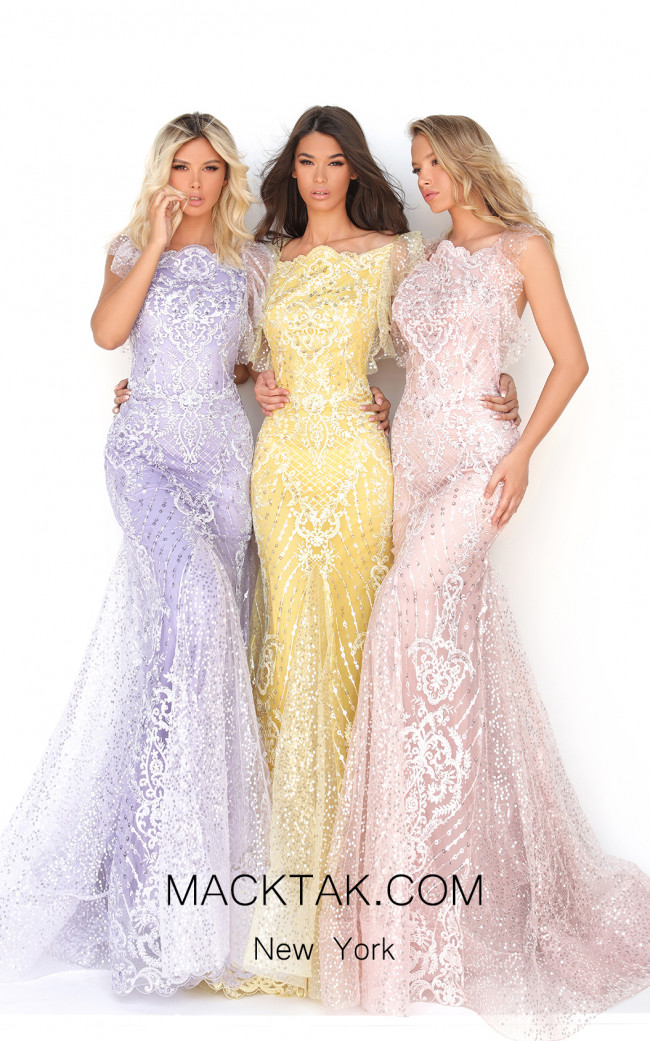 Tarik Ediz 50640 Front Dress