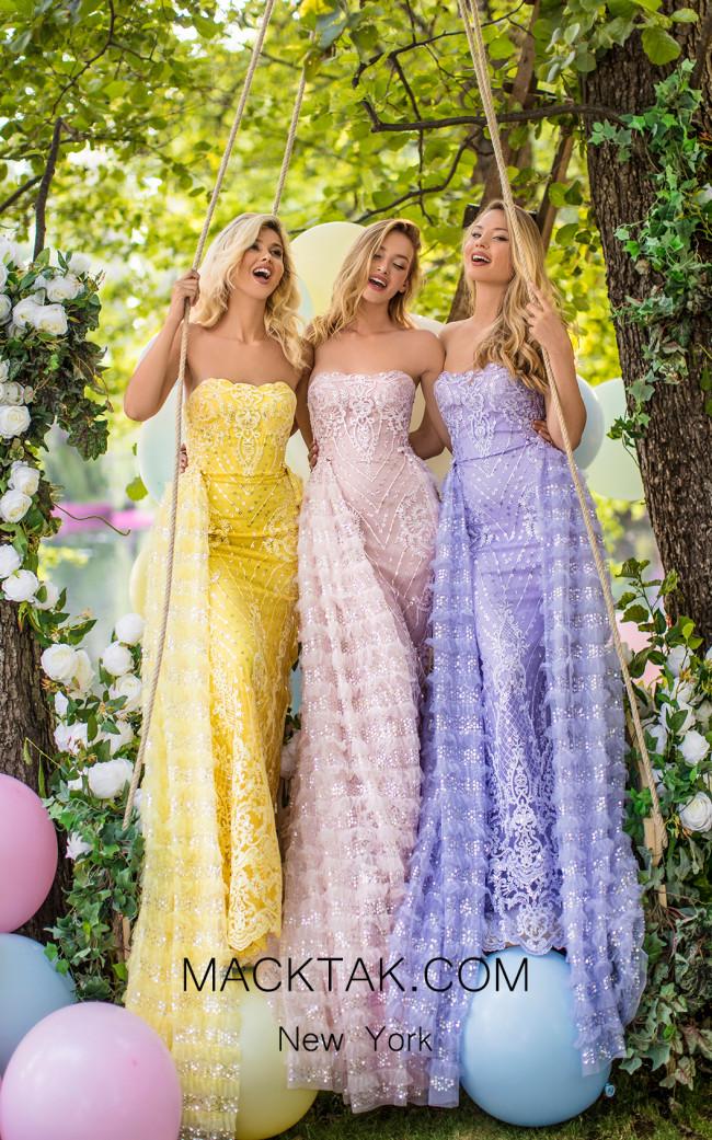 Tarik Ediz 50644 Front Dress