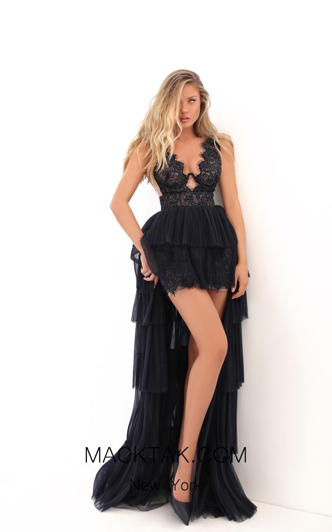 Tarik Ediz 50705 Front Dress