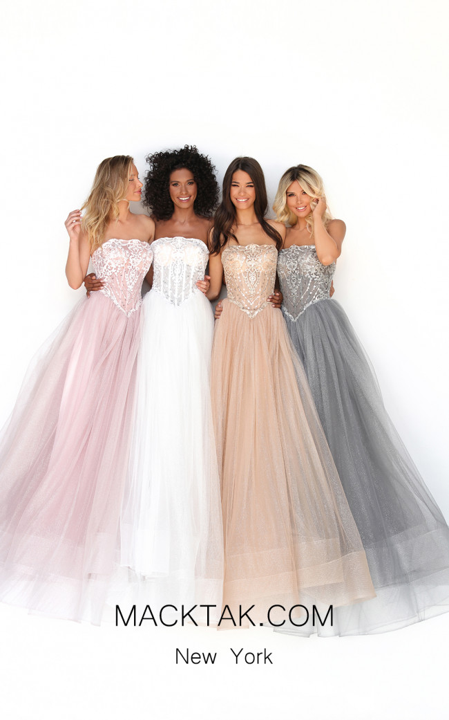 Tarik Ediz 50716 Front Dress