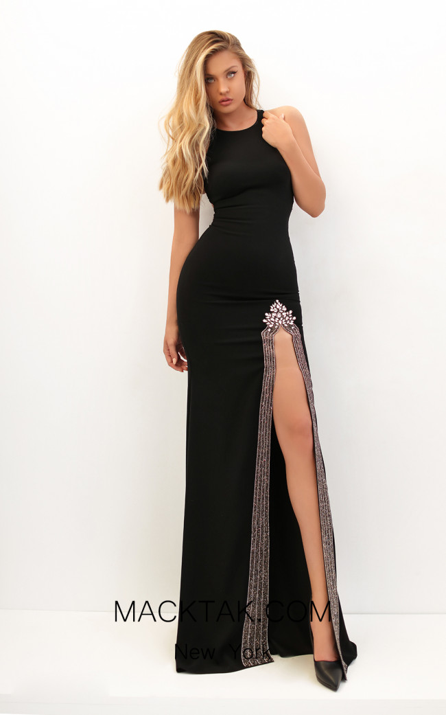 Tarik Ediz 50717 Front Dress