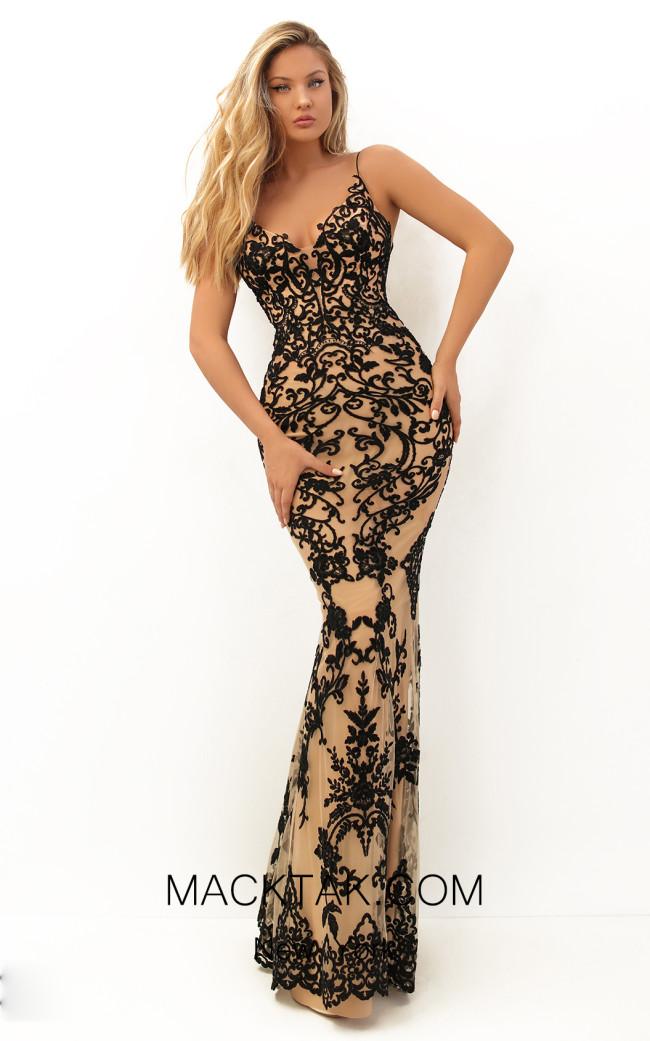 Tarik Ediz 50719 Front Dress