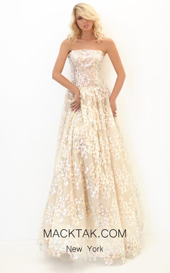 Tarik Ediz 50730 Front Dress