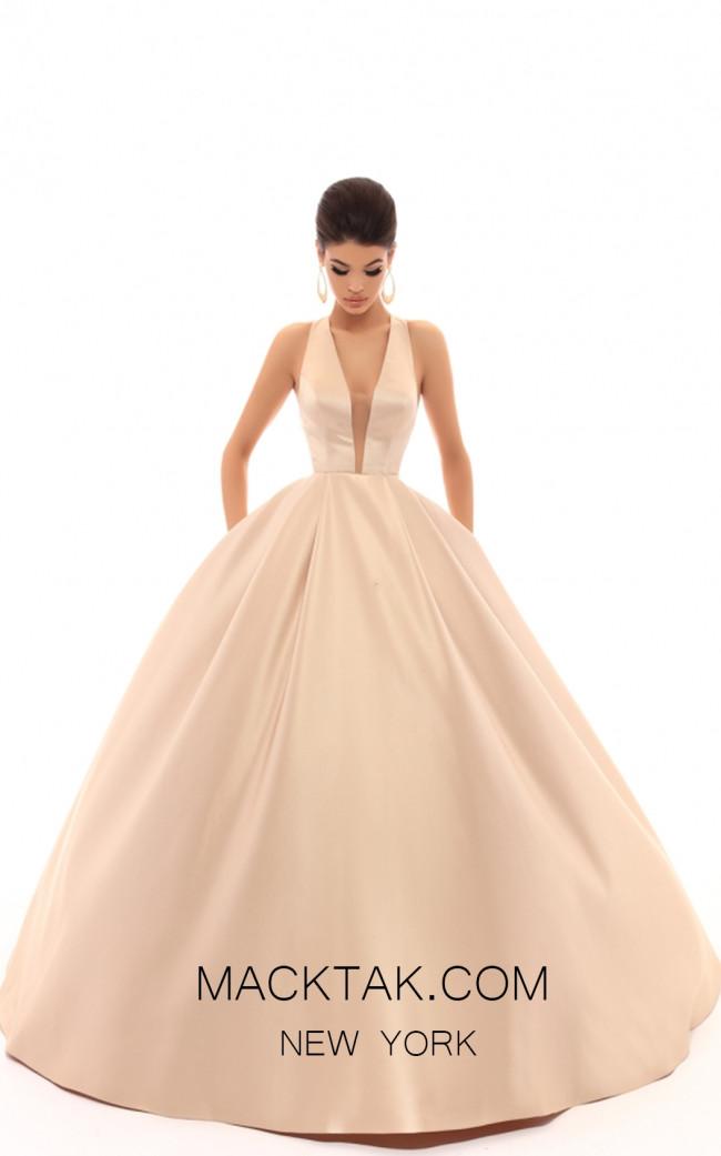 Tarik Ediz 50401 Stone Front Prom Dress