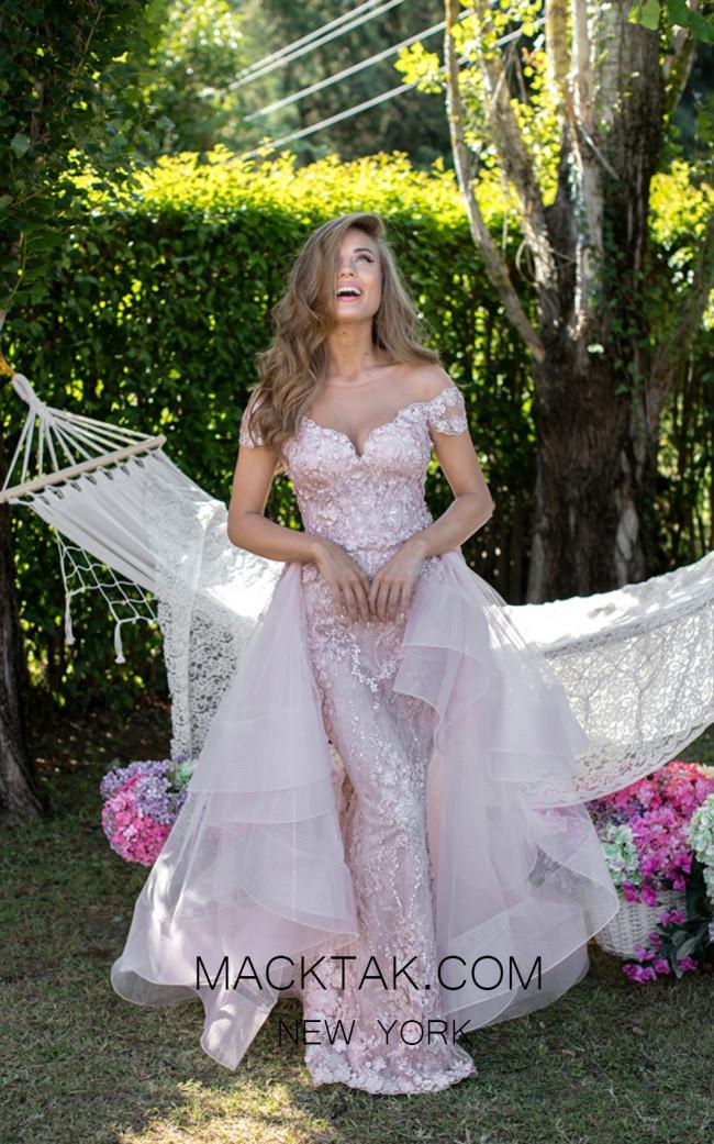 Tarik Ediz 50410 Prom Front Dress
