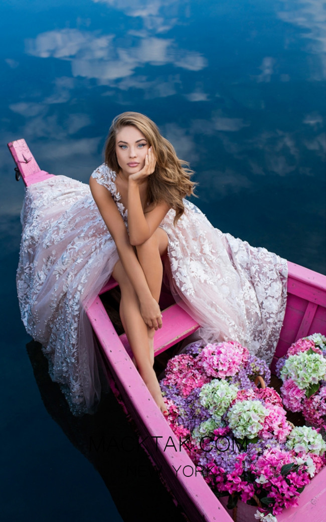 Tarik Ediz 50416 Front Prom Dress