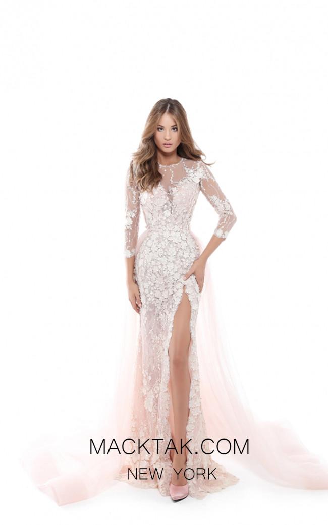 Tarik Ediz 50419 Powder Front Prom Dress