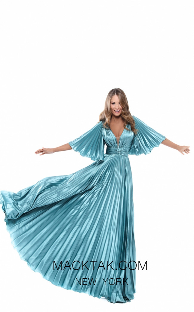 Tarik Ediz 50450 Front Prom Dress