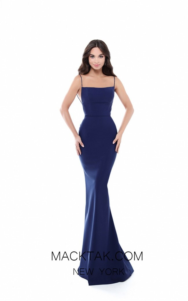 Tarik Ediz 50512 Front Back Prom Dress