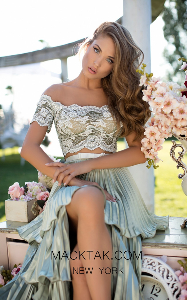 Tarik Ediz 50546 Whisper Front Prom Dress