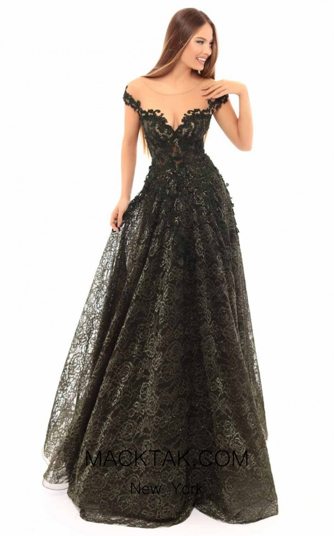 Tarik Ediz 93644 Front Dress