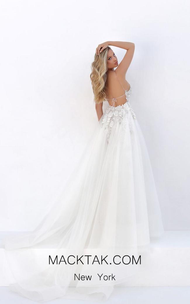 Tarik Ediz 50667 Over Skirt Back Dress