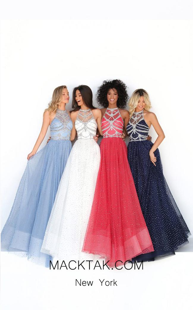 Tarik Ediz 50681 Front Dress