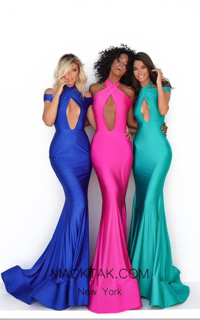 Tarik Ediz 50688 Front Dress