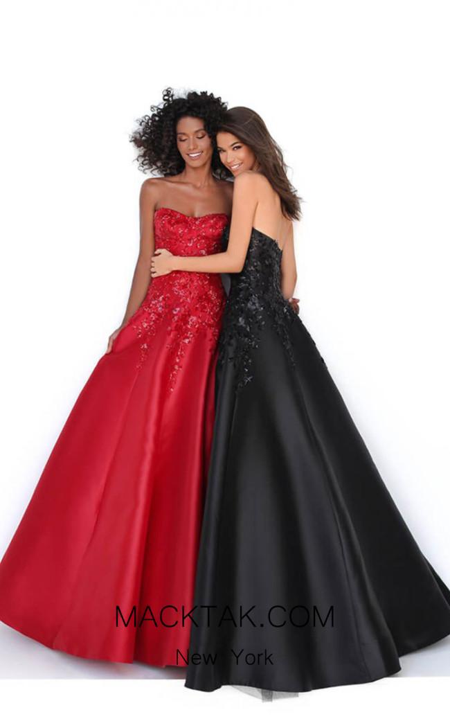 Tarik Ediz 50695 Front Dress