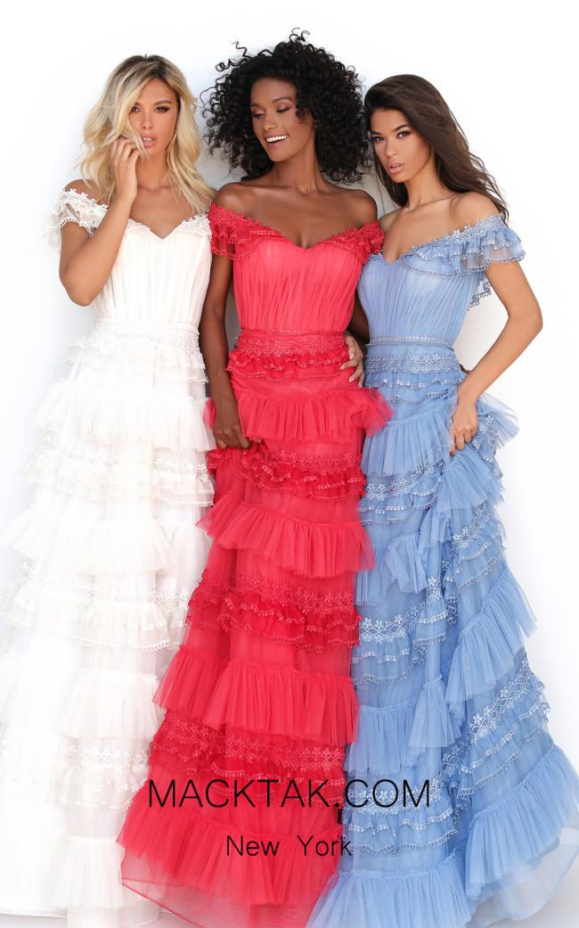 Tarik Ediz 50762 Front Dress