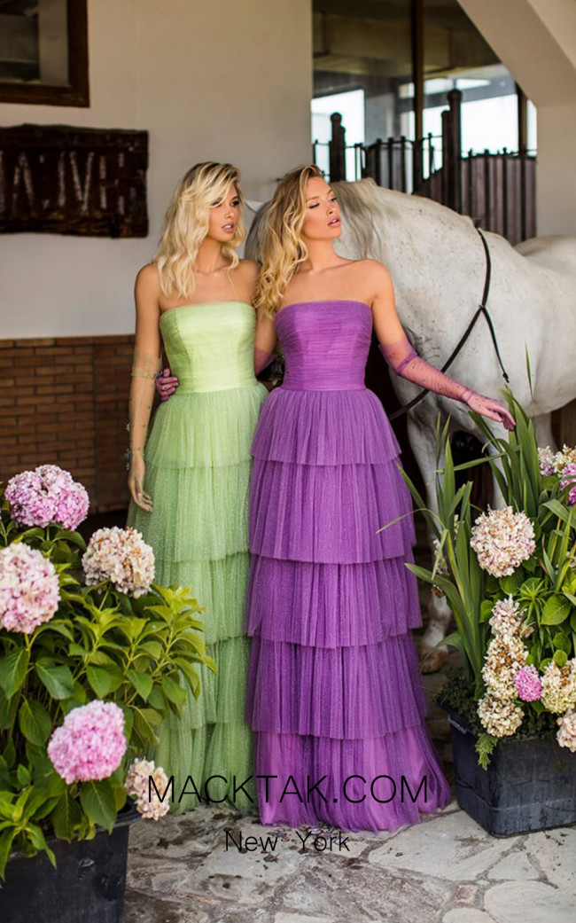 Tarik Ediz 50768 Front Dress