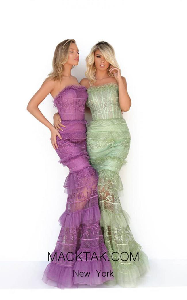 Tarik Ediz 50769 Front Dress