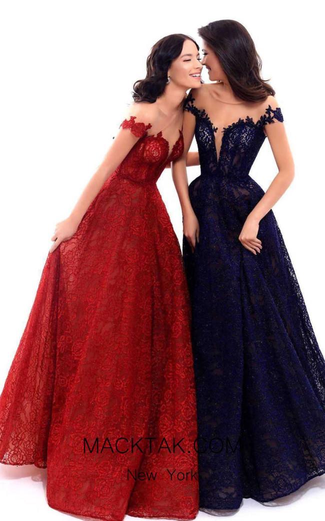 Tarik Ediz 93321 Front Dress