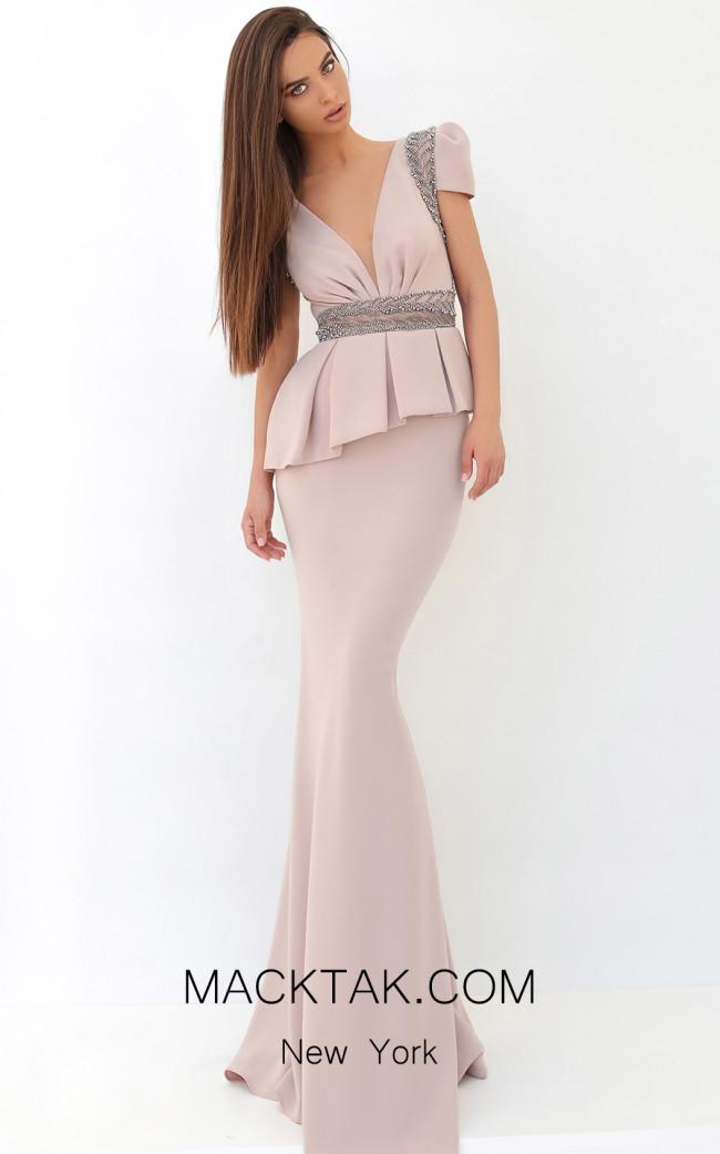 Tarik Ediz 93855 Powder Front Dress