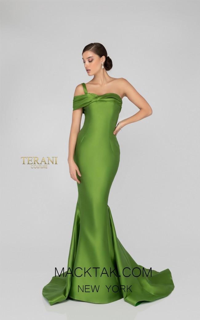 Terani 1911E9106 Fern Front Evening Dress