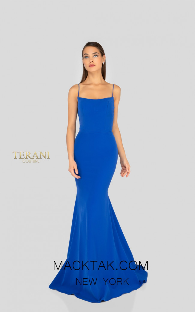 Terani 1912B9703 Bridesmaid Royal Front Dress