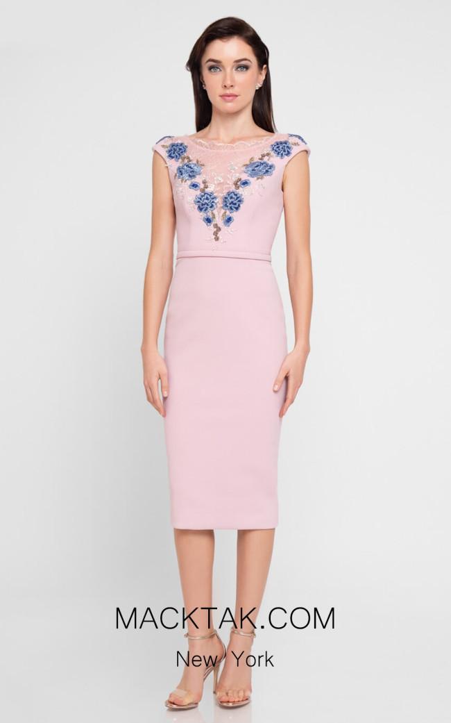 Terani 1812C6043 Rose Front Dress