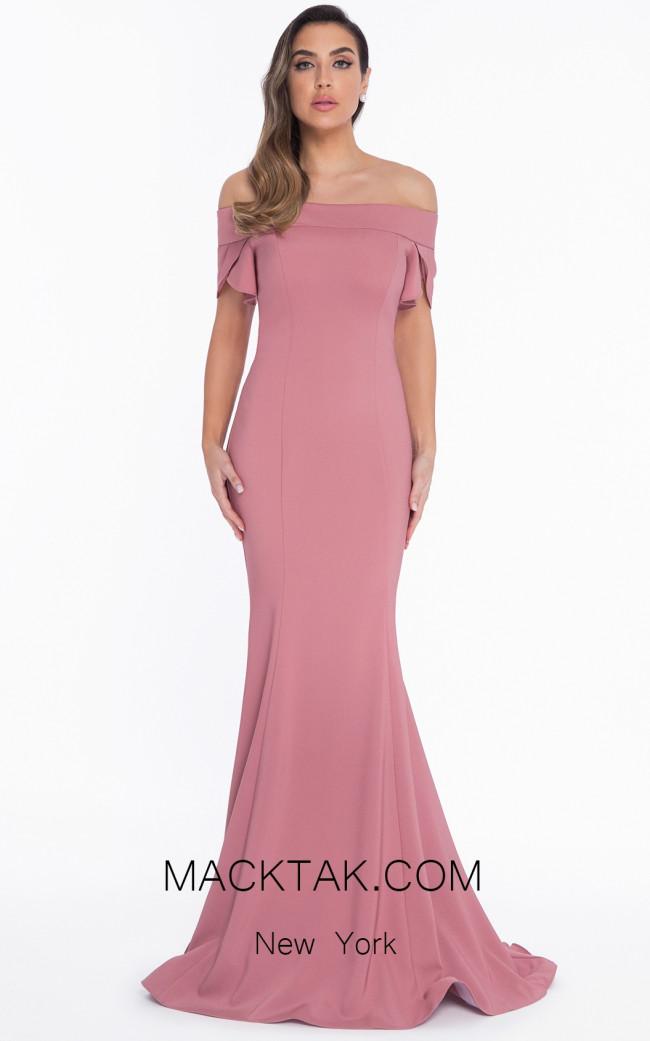 Terani 1821E7125 Rose Front Dress