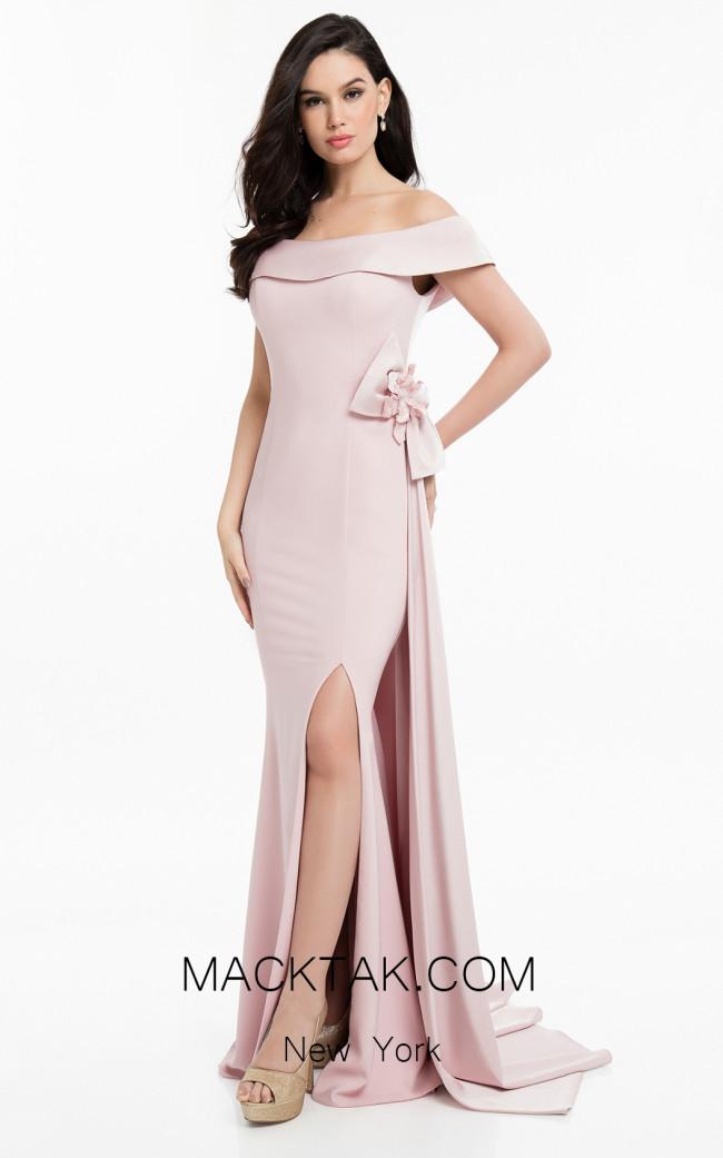 Terani 1821M7559 Rose Front Dress