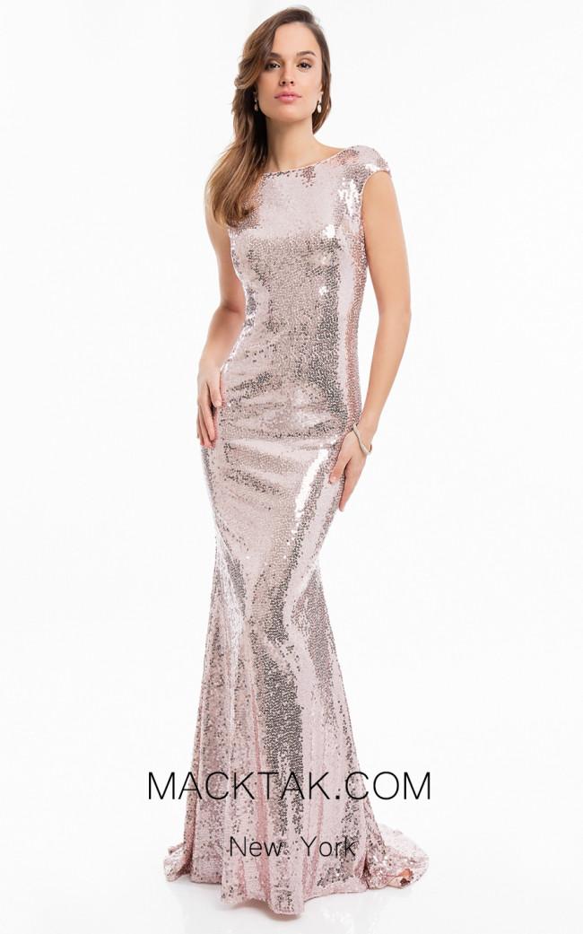 Terani 1822E7317 Blush Front Dress