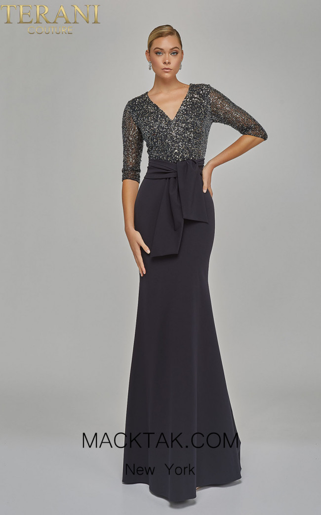 Terani 1922M0525 Back Dress