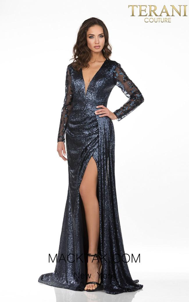 Terani 2021M3579 Front Dress