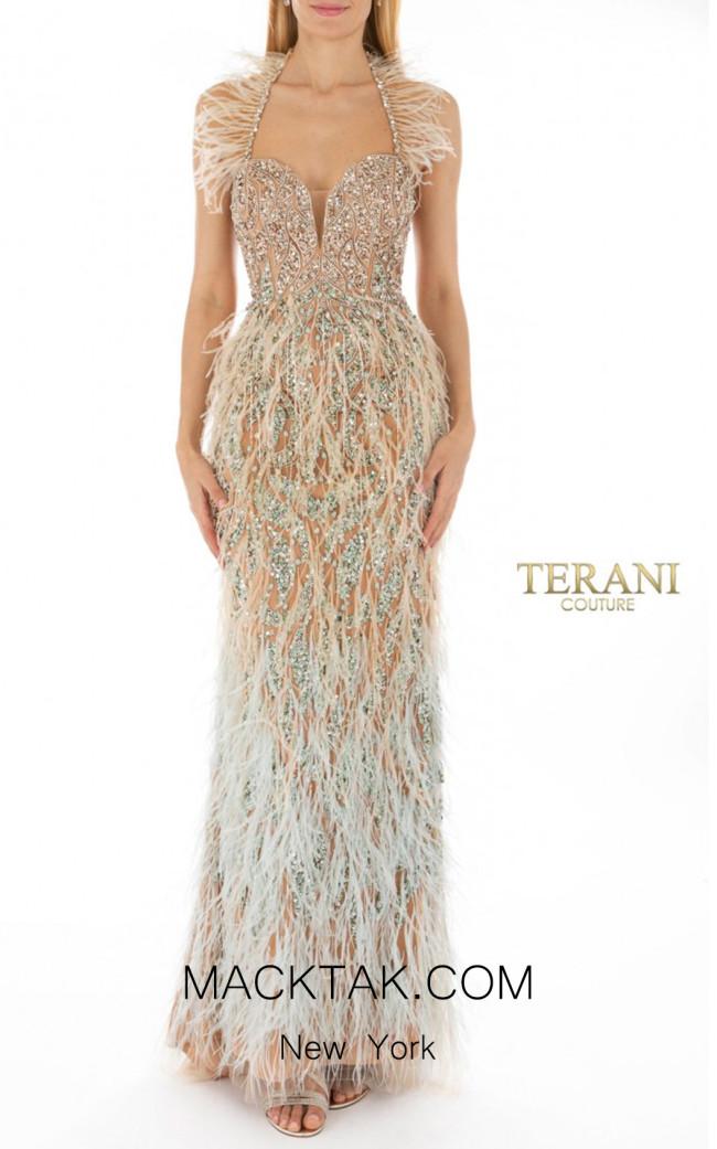 Terani coutur 1911GL9475 Front Dress