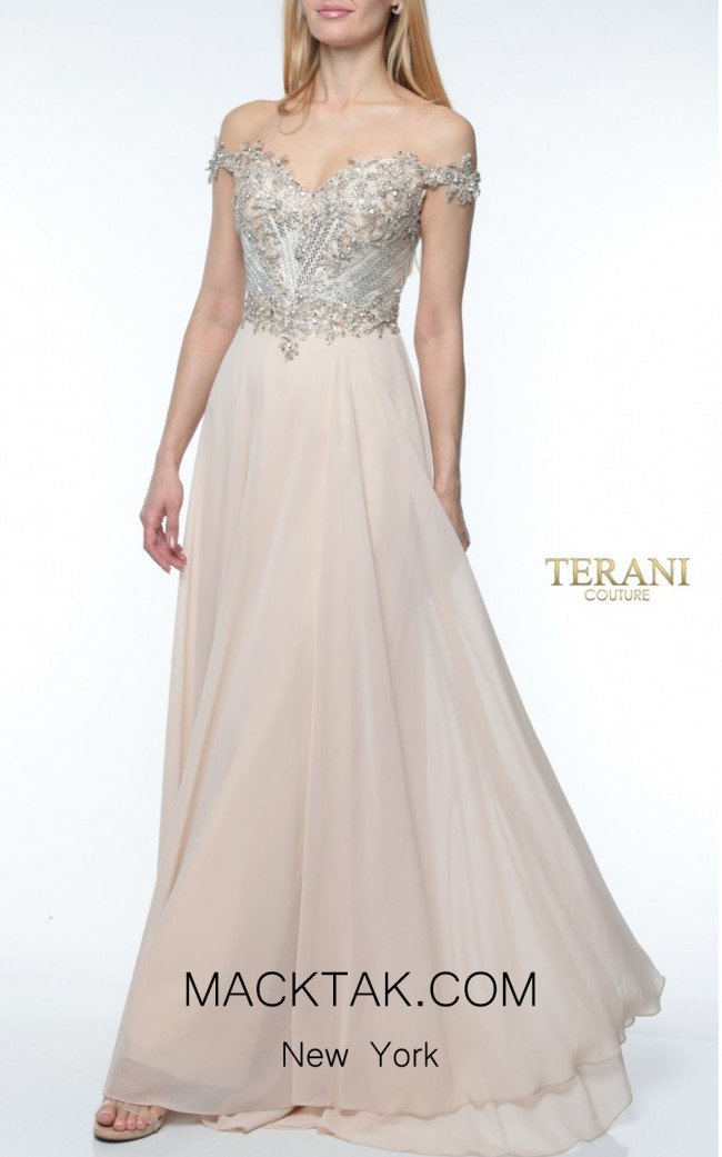 Terani coutur 1921M0497 Front Dress