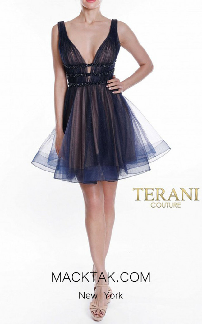 Terani Couture 1822H7822 Front Dress