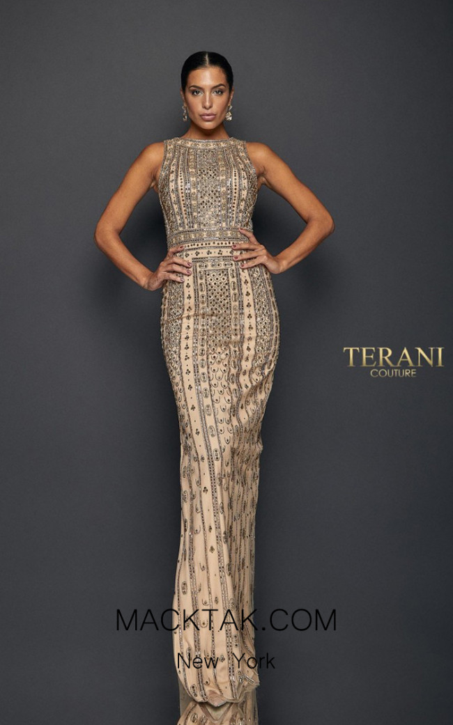 Terani Couture 1911GL9470 Front Dress