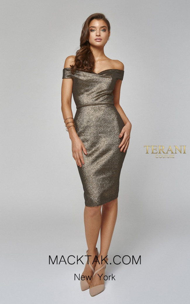 Terani Couture 1921C0024 Front Dress