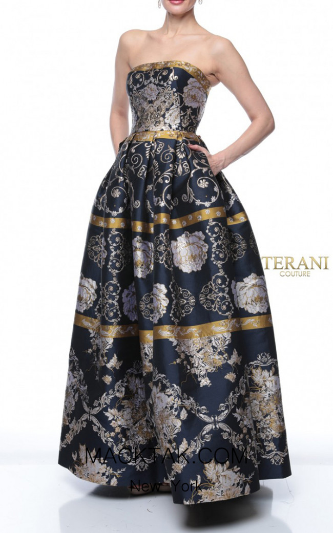 Terani Couture 1921E0163 Front Dress