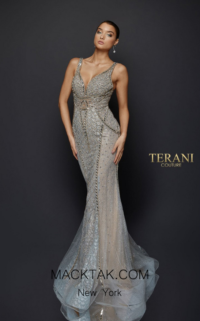 Terani Couture 1921GL0621 Front Dress