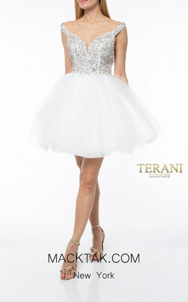 Terani Couture 1921H0319 Front Dress
