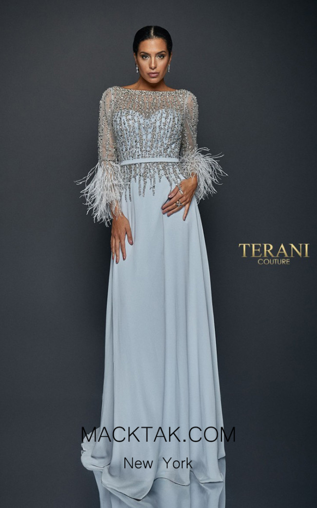 Terani Couture 1921M0473 Front Dress