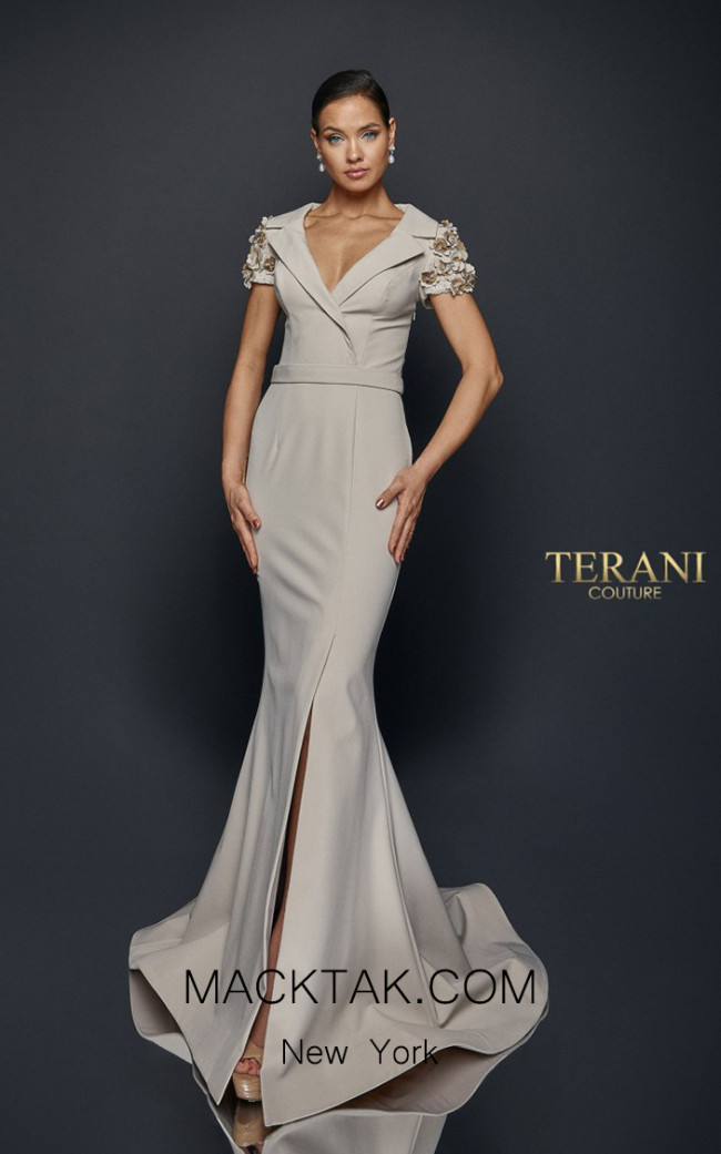 Terani Couture 1921M0475 Front Dress